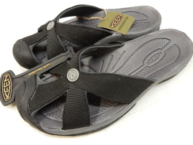 f183bf005c7d KEEN Sport Sandal Slides Bali Black 6m A304367 for sale online