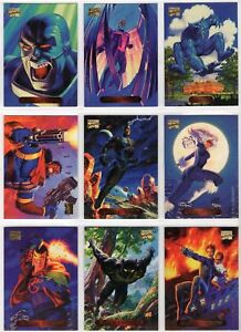 1994-MARVEL-MASTERPIECE-SERIES-3-COMPLETE-140-CARD-SET-NM-UNIVERSE-X-MEN