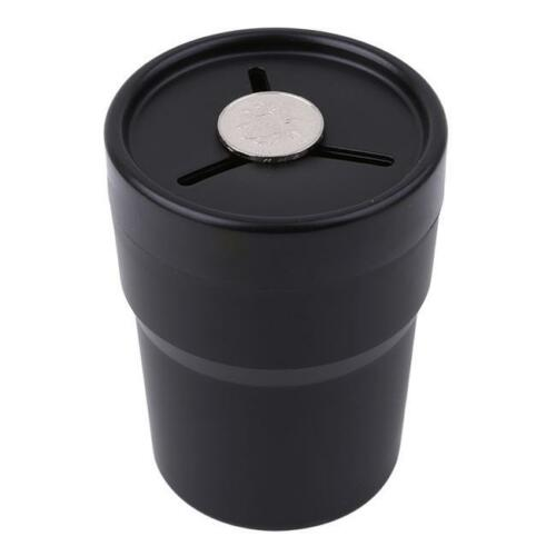 Auto Car Pen Holder Coin Boxes Mount Trash Rubbish Holders Cup Candy LC
