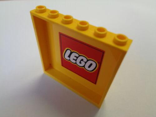 LEGO Mur Panneau Cloison Parroie stickers 1X6X5 Panel choose color 59349