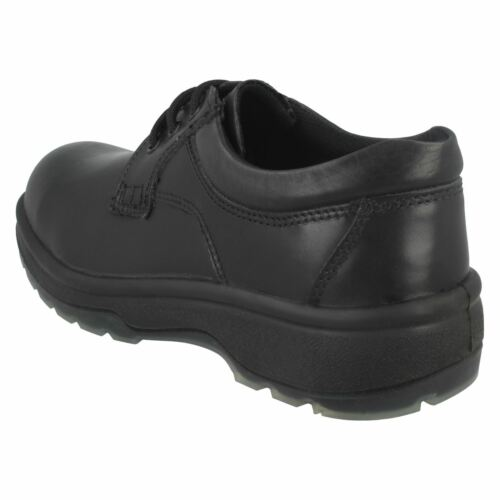 Totectors 1010 Ladies Black Leather Safety Work Shoes