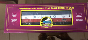 M-T-H-MTH-Electric-Trains-0-Scale-Freight-Car-Bessemer-And-Lake-Erie-Hopper-Car