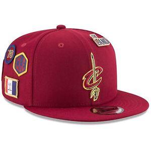 new product 039de 976b0 Image is loading Cleveland-Cavaliers-Hat-Adj-Men-039-s-2018-