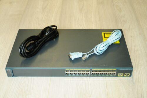 Cisco WS-C2960-24TT-L 24-Port Ethernet Network Switch w// Racks 1YrWty TaxInv