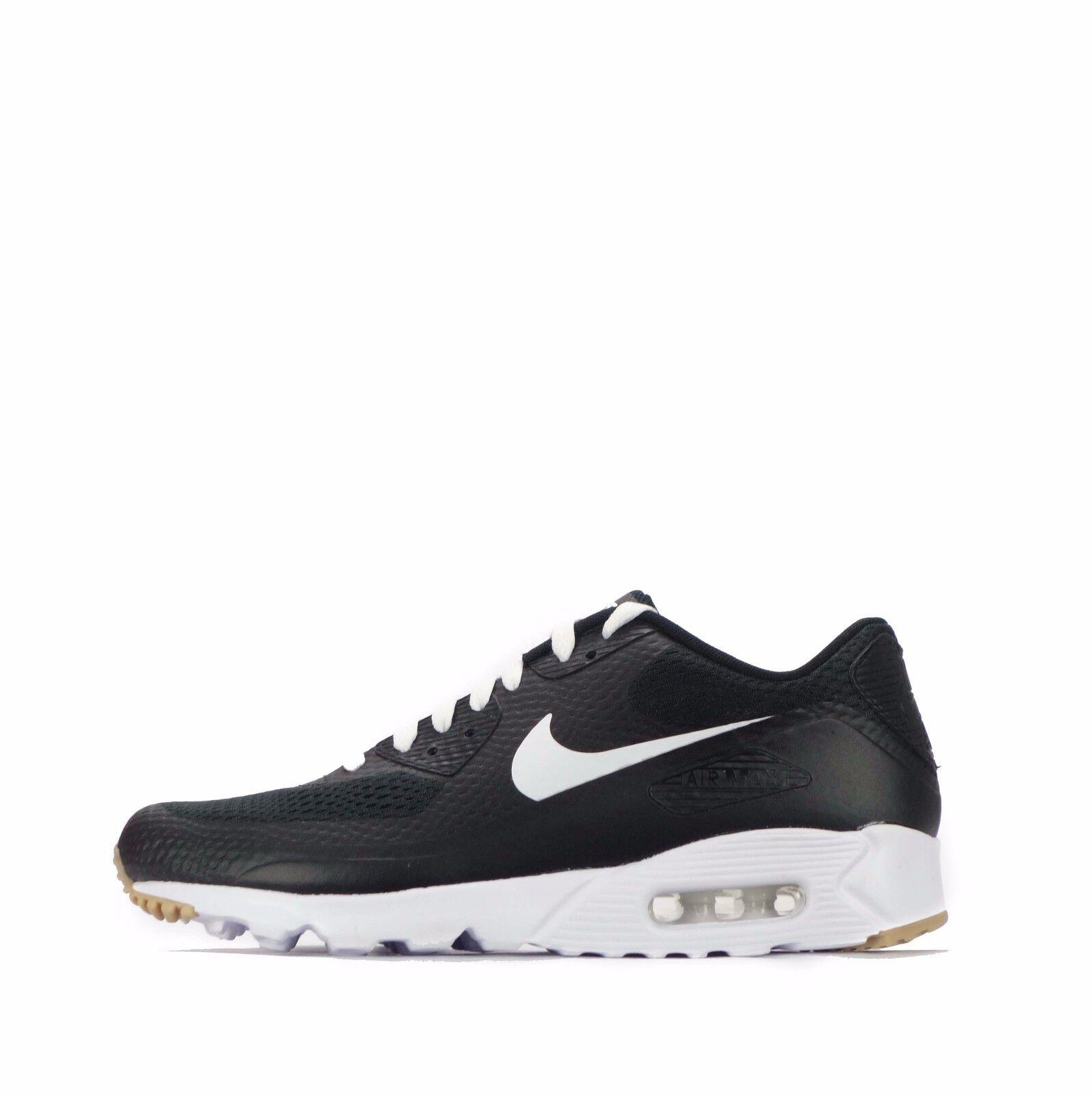 Nike Air Max 90 Ultra ESSENTIEL Chaussures Hommes Noir/Blanc