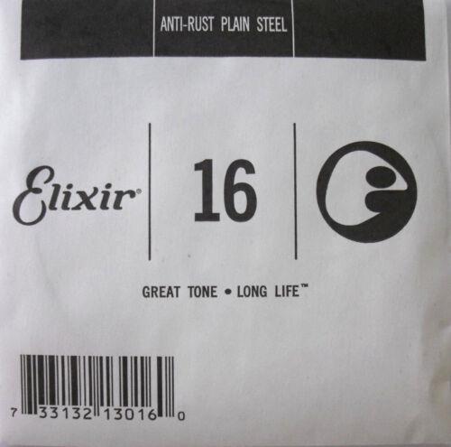 1 x Elixir Einzel-Saite  E-Gitarren-Saite   016