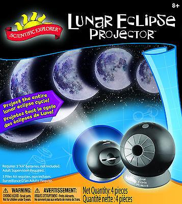 LUNAR ECLIPSE PROJECTOR - MOON CYCLE PROJECTION SCIENCE KIT SCIENTIFIC EXPLORER
