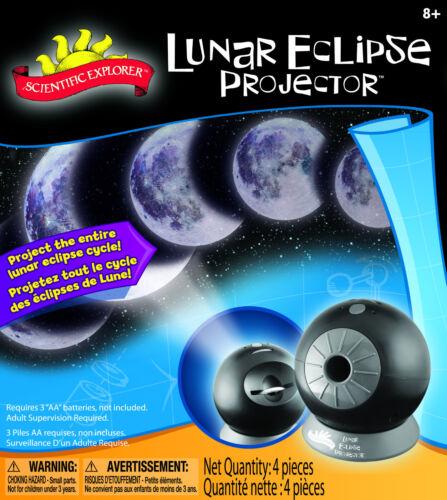 LUNAR ECLIPSE PROJECTOR MOON CYCLE PROJECTION SCIENCE KIT SCIENTIFIC EXPLORER
