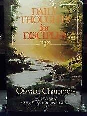 Daily Thoughts for Disciples by Chambers, Oswald