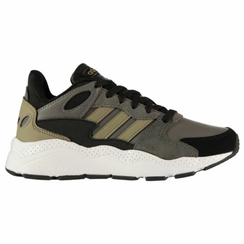 adidas Kids Boys Chaos Juniors Running Shoes Low Top Trainers Lace Up