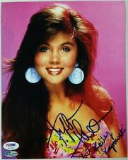"Tiffani Amber Thiessen Signed ""Kelly Kapowski"" 8x10 Photo #7 PSA/DNA COA + Proof"