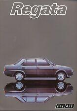 Fiat Regata Prospekt 9/83 brochure 1983 Auto PKW Broschüre Italien Autoprospekt
