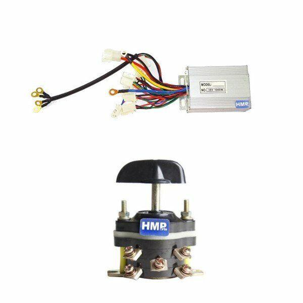 HMParts Controller 36V 1000W  INTERRUTTORE Vorwärtsindietro per Bambini ATV Quad