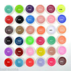 36 Pure Colors Pots Bling Cover UV Gel Nail Art Tips Extension Manicure for Girl
