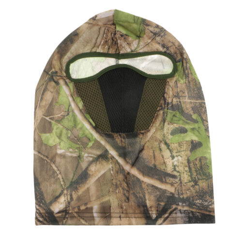 Camouflage Hat w// Hunting Face Mask Camo Balaclava Full Face Motorcycle Mask