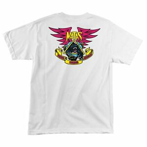 Santa-Monica-Airlines-Natas-Kaupas-PANTHER-LIMITED-Skateboard-Shirt-WHITE-XL
