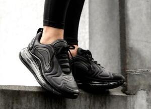 New Nike Air Max 720 Black Black