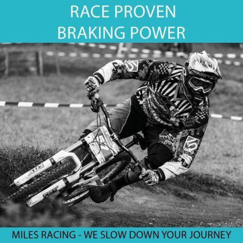 Miles Racing Semi-Metallic Brake Pads for Mountain Bike Disc Brakes SRAM Avid X