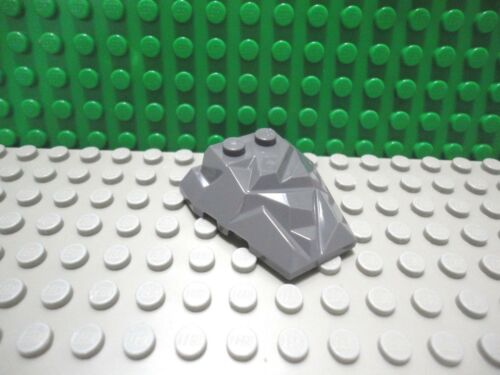 Lego 1 Dark Bluish Gray 4x4 fractured sloped wedge hull cover ship NEW