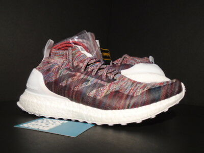 new product c526e 0a745 ADIDAS ULTRA BOOST MID KITH RONNIE FIEG ASPEN PACK CONSORTIUM WHITE PK  BY2592 7 190305821957 | eBay