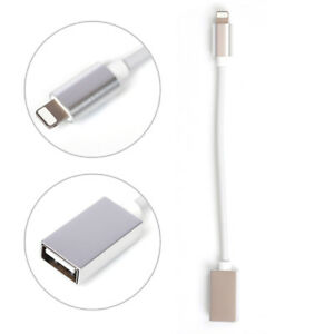 Details about IOS12 for Apple 8Pin to USB Keyboard OTG iPad iPhone Mouse  Adapter Cable