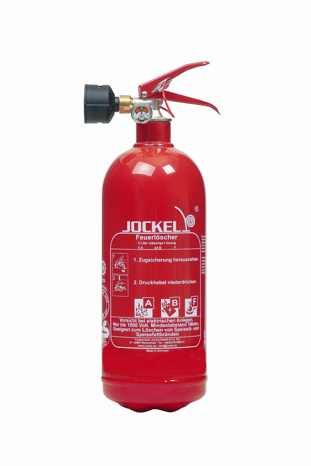 2 Liter Haushaltslöscher Fettbrandlöscher Feuerlöscher F2JM5 (ArtNr. 2530100) 1