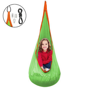 Remarkable Details About Sorbus Kids Child Pod Swing Chair Nook Tent Hanging Seat Hammock Nest Camellatalisay Diy Chair Ideas Camellatalisaycom