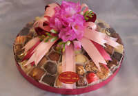 Assorted Hand Made Belgian Chocolate 14 Platter Net 1500g Luxury Present