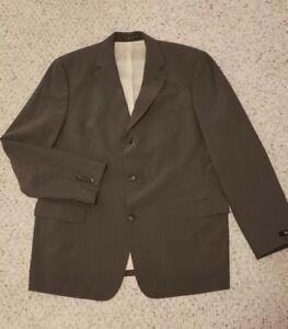 authentic skate shoes exclusive range HUGO BOSS Scorsese Men's Brown Pinstripe Suit Jacket, Size 48R | eBay