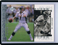 1998 Upper Deck Super Powers SILVER -UNNUMBERED /2000 ERROR - John Elway Broncos