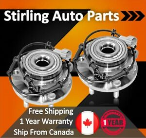 2008 For Chevrolet Impala Rear Wheel Bearing and Hub Assembly x 2 Note: 4-Wheel ABS
