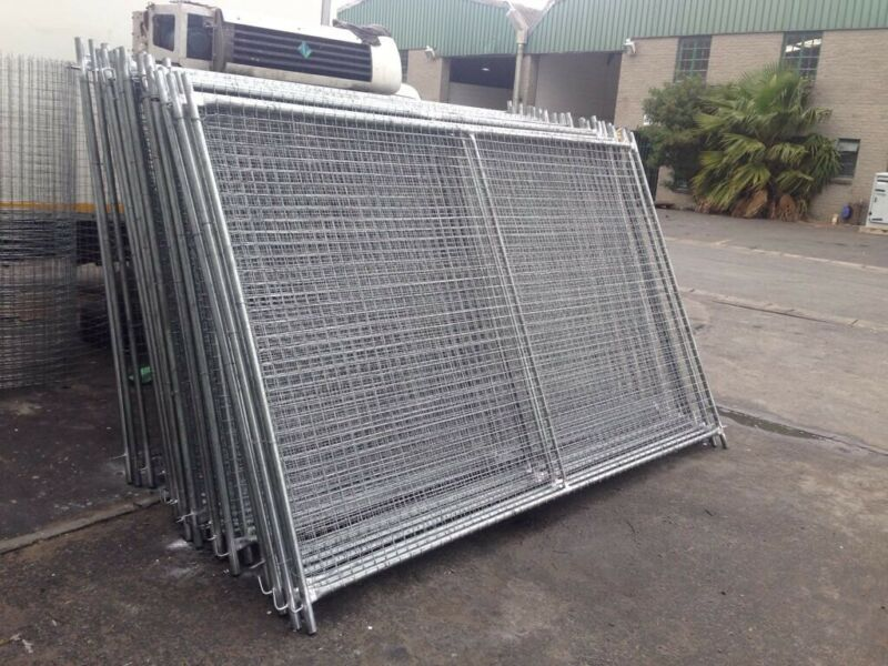 Temporary Fence Panels Brand New Ready Made Fence Panels