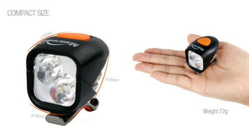 Magicshine MJ-902 2000 Lumen Compact Front /&Tail Bike Light Combo Battery Pack