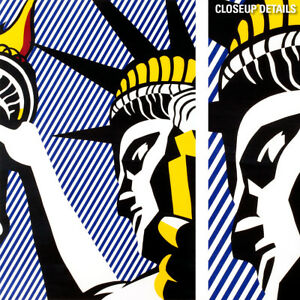 18W-034-x28H-034-I-LOVE-LIBERTY-by-ROY-LICHTENSTEIN-STATUE-FREEDOM-CHOICES-of-CANVAS