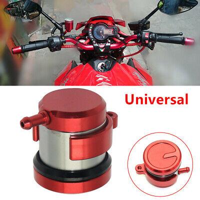 For Suzuki SV1000//S 2003 2004 2005 2006 2007 2008 2009 2010 2# Red Motorcycle Racing Parts CNC Billet Front Motorbike Brake Reservoir Clutch Master Cylinder Fluid Oil Reservoir Universal
