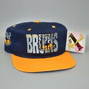 UCLA-Bruins-1-Apparel-Vintage-90-039-s-NCAA-Adjustable-Snapback-Cap-Hat-NWT