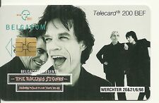 RARE / CARTE TELEPHONIQUE - THE ROLLING STONES - MICK JAGGER / TELEPHONE CARD