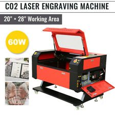 60w 28 X 20 Co2 Laser Engraving Cutting Carving Engraver Cutter 700x500mm