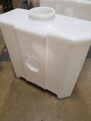 "250l Valeting Water Tank 2 X 1/2"" Inserts Storage Free Delivery"
