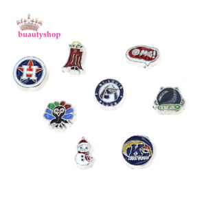 New-10pcs-mixed-style-Floating-Charms-Fit-For-Memory-Living-Glass-Locket