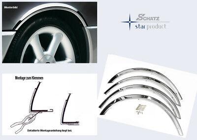 Schätz ® Edelstahl Radlaufleisten Radhaus Mercedes Chrom C-Klasse W203 Limousine