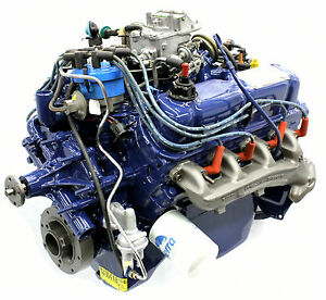 New Ford V8 Complete Engine Motor 2v 1980 82 Mustang