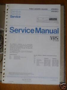 Anleitungen & Schaltbilder FäHig Service Manual Philips Vr 6463 Video Recorder,original ZuverläSsige Leistung