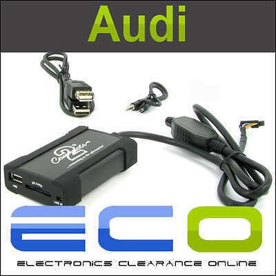 Audi Usb Sd Aux interfaz adaptador encaja A2 A3 A4 Tt T1 Audio t1-ctaadusb004