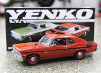 Gmp 1970 Chevrolet Nova Yenko Duece Edition In Red Diecast Scale Replica 18830