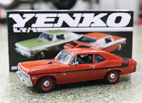 Gmp 1970 Chevrolet Nova Yenko Duece Edition In Red Diecast Scale Replica 18830