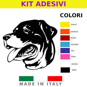 ADESIVO CANE DOG STILE VARI COLORI STICKER RESISTENTE ACQUA VINILE PVC ADESIVO