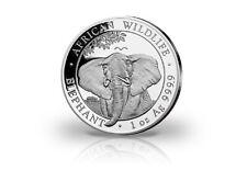 African Wildlife Serie 1 oz Silber 2021 Somalia Elefant