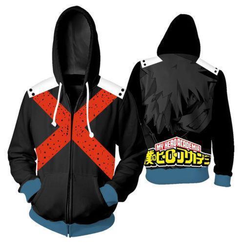Mon héros Academia Boku no hero Academia Cosplay bakugou Katsuki Sweat
