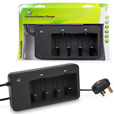 HQ Universal Battery Charger AA AAA C D 9V Ni-MH 180mA Rechargeable Batteries